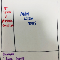 Supporting Retrieval Practice with Cornell Note Taking